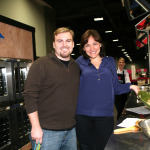 Jason with Food Network's Mary Beth Albright
