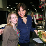 Tinsley with Food Network's Mary Beth Albright