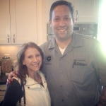 Tinsley with Graffiato's and Top Chef contender Mike Isabella