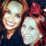 Tinsley and Food Network's Giada De Laurentiis