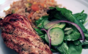 Grape-Stuffed-Chicken-With-Apricot-Fried-Rice