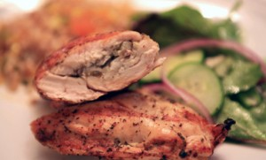 Graped-Stuffed-Chicken-With-Apricot-Fried-Rice
