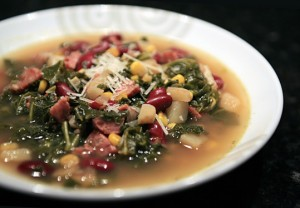 Sausage and Kale Autumn Soup