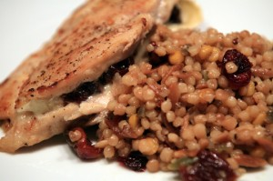 Cherry it up Chicken with Harvest Grains
