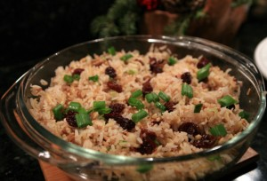 Cherry Nutty Rice