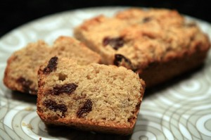 Cherry Butter Banana Bread