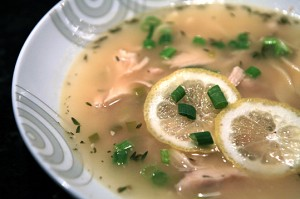 Lemon Drop Soup