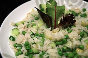 Green Lovers Rice Salad