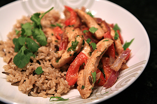 Thai Peanut Chicken Stir Fry — CookingShorts