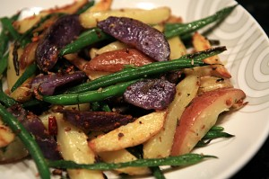 Tastefully Simple Garlic and Onion Roasted Potato Medley
