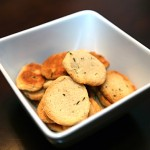 Cheese and Herb Crackers