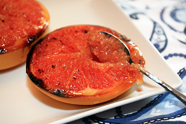 Roasted Agave Grapefruit