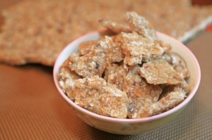 Agave Oat Brittle