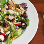 Cherry and Corn Farm House Salad