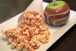 Cashew and Caramel Corn