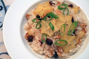Starfruit Rice Salad