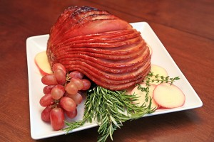 Cider and Cinnamon Glazed Ham