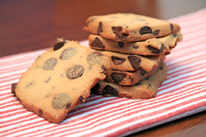 Espresso Chip Shortbread Cookies — CookingShorts