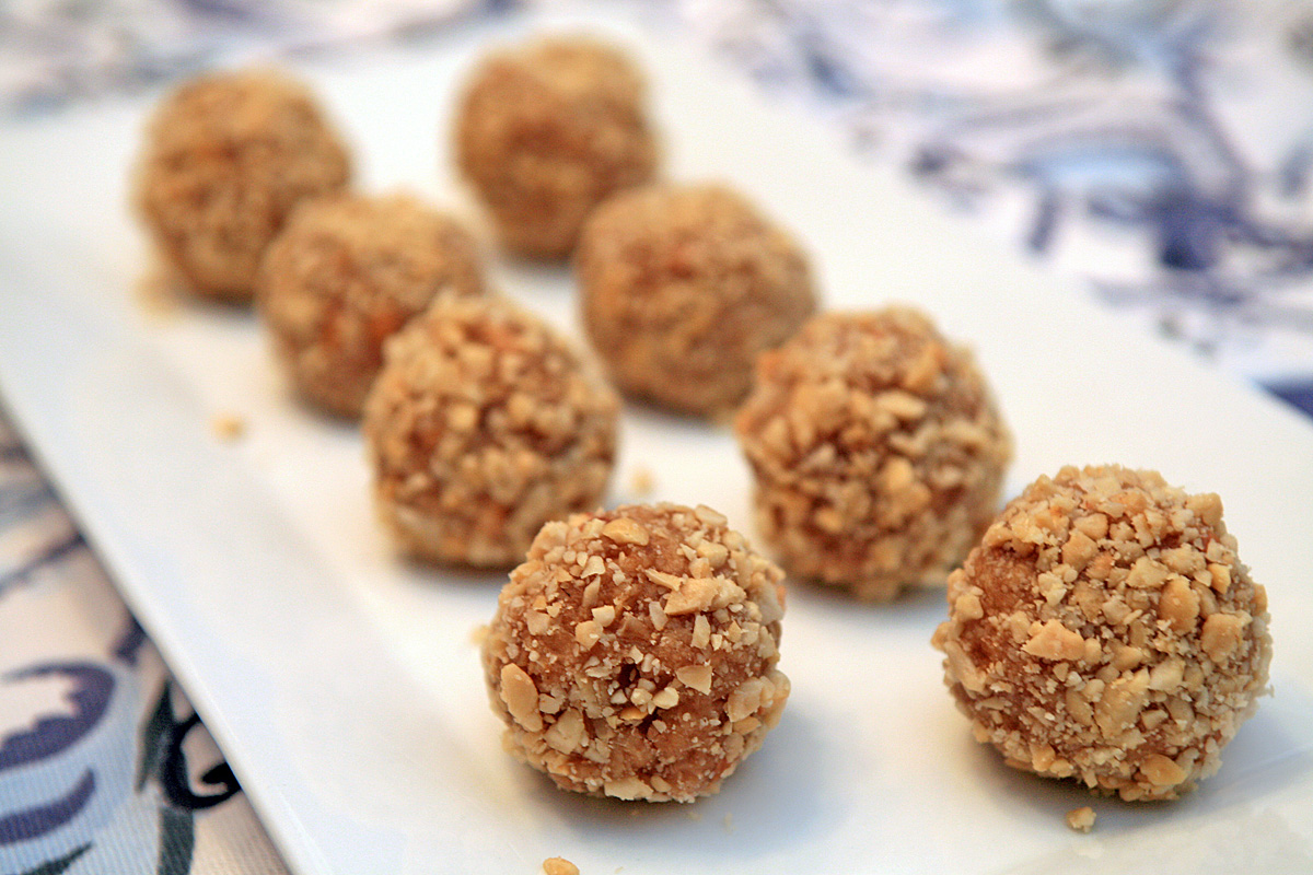 Peanut Butter Truffles — CookingShorts