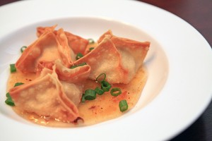 Crab Wontons with Sweet and Sour Sauce